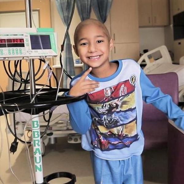 Alessandro at Holtz Children's Hospital