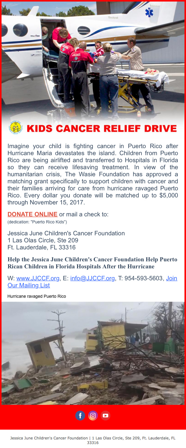 CancerReliefDrive_newsletter