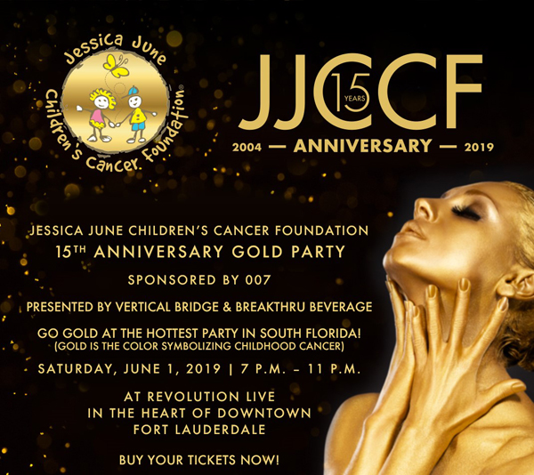 15th Anniversary Gold Party | Jessica June Child Cancer Foundation